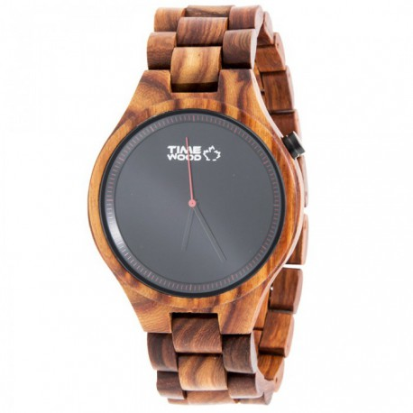 Dřevěné hodinky TimeWood Rosso